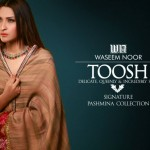 Toosh Pashmina Winter Collection 2015 by Waseem Noor
