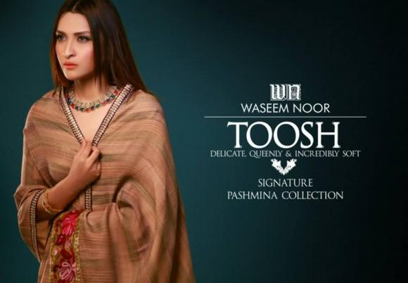Waseem Noor 2015 Pashmina Winter 4