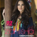 Zanisha Winter Kurti Collection 2015 by Al-Zohaib Textile
