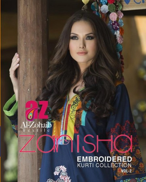 Zanisha Winter Kurti 1
