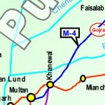 Route Map Faisalabad Multan Motorway (Gojra, Shorkot, Khanewal)