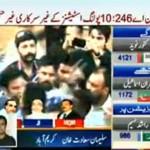 10 Polling Station Result NA 246 Karachi - MQM First, PTI Second and JI Third
