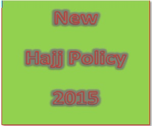 Pakistan Hajj Policy 2015