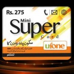 Ufone Mini Super Card Budget Offer For 15 Days