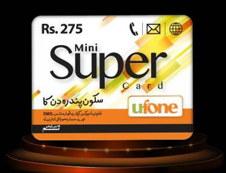 Ufone Mini Super Card