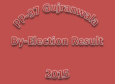 PP-97 Gujranwala By Election Result 2015