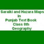 Saraiki and Hazara Maps in Punjab Books