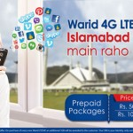 Warid 4G LTE Bundle Offers