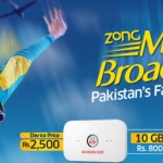 Zong Introduced Mobile Broadband 4G MiFi Packages
