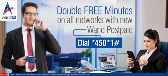 Warid Double Postpaid