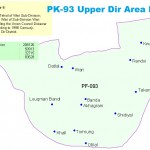 PK-93 Upper Dir Area Map
