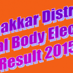 Bhakkar District Local Body Election Result 2015