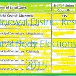 Khanewal District Results Local Body Elections 2015