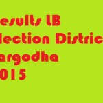 Results LB Election District Sargodha