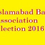 Islamabad Bar Association Election 2015-2016
