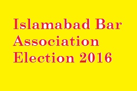 Islamabad Bar Association Election 2015-2016
