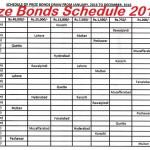 Prize Bonds Schedule 2016