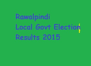 Rawalpindi Local Body Election Results