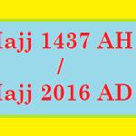 Hajj 2016/1437 - 143686 Hujjaj will Offer Hajj this Year