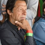 Imran Khan Sitting in Kotli Jalsagah in Azad kashmir