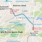 Metrobus Stations Near Qila Kohna Qasim Bagh Multan - Location Map Daulat Gate, Fish Market, Ganda Talab