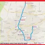 Multan Metro Bus Route Complete