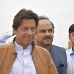 Imran Khan Arriving in NA 101 Waziabad Jalsa of Alipur Chatha (2)