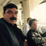 Imran Khan and Sheikh Rasheed Watching T20 Cricket Match Between India and Pakistan in Eden Garden Calcuta