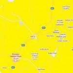 Location Map Khairpur Nathan Shah District Dadu - PS 76