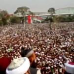 Mumtaz Qadri Janaza in Liaqat Bagh Rawalpindi (Pics Gallery)