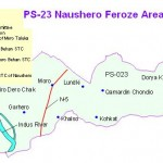 PS 23 Naushero feroze Area Map