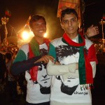 PTI Workers in Wazirabad
