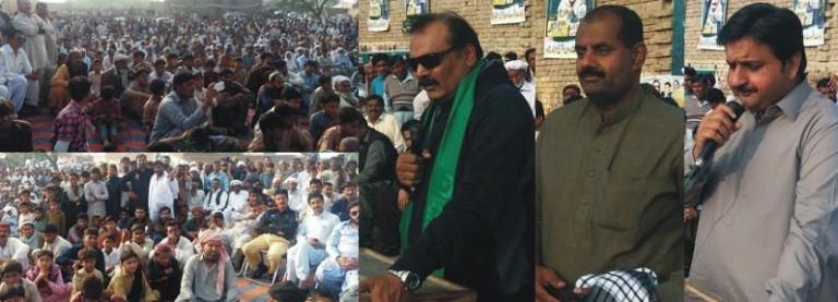 Rana Qasim Noon Adressing Jalsa in Kotli Najabat Shujabad PMLN NA 153