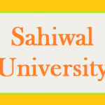 Sahiwal University Notification Issued By Shahbaz Sharif