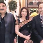 Sheikh Rasheed Ahmad With Reema in India