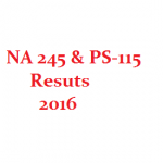 By Election Results NA 245 & PS 115 Karachi - MQM Wins