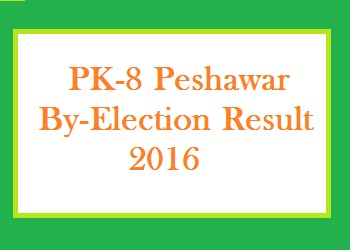 PK 8 By Election Result