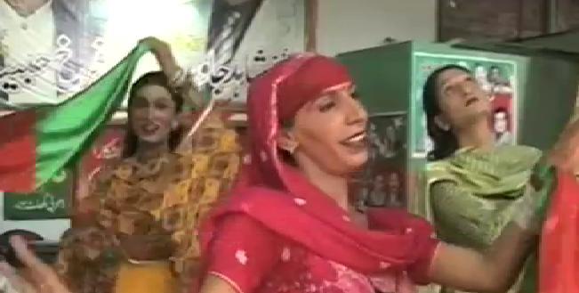 PTI Jalsa Preparation in Faisalabad - Imran Khan will address