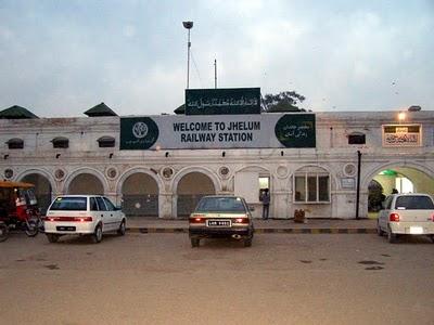 Jhelum Railway Station - NA 63