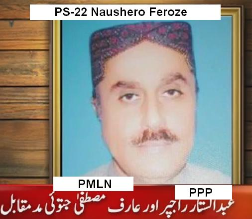 PS-22 Naushero Feroze Contest Between PMLN and PPP