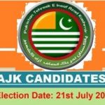 PTI AJK Candidates 2016 for General Election