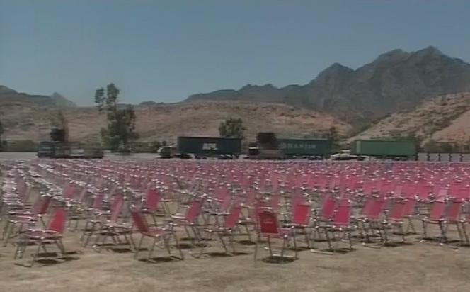 PTI Kohat Jalsa Gah Preparation for Imran Khan Address