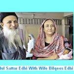 Abdul Sattar Edhi With Wife Bilqees Edhi Pic