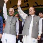 Lahore-Sialkot Motorway - Nawaz Sharif and Khawaja Muhammad Asif Picture
