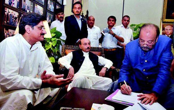 Murad Ali Shah (PPP) Vs Khuram Sher Zaman Khan (PTI) for CM Sindh