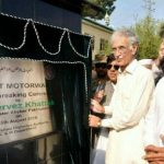 Foundation stone laying of Swat Motorway which will pave the way for development and Tourism in Swat (Imran Khan)