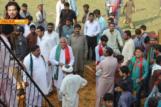 Imran Khan jalsa Gaggo Mandi Burewala Vehari PIctures 3