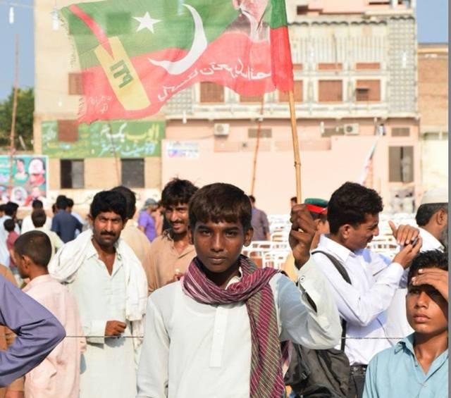 Imran Khan jalsa Gaggo Mandi Burewala Vehari PIctures 4