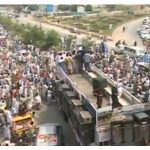 PTI Ehtasab Rally Peshawar to Attock (Picture)