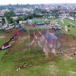 PTI Jhelum Jalsa Gah at Zameer Jaferry Stadium